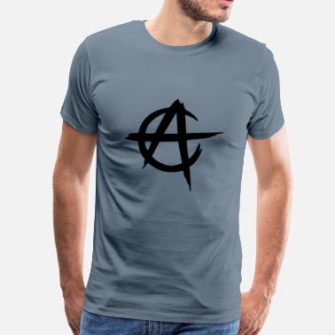 Anarcho Capitalism anarcho capitalism vector - Men's Premium T-Shirt