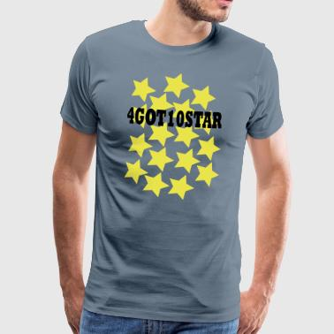 4GOT10STAR - Mannen Premium T-shirt