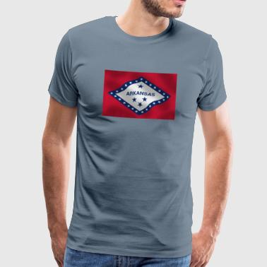 Arkansas - Premium-T-shirt herr