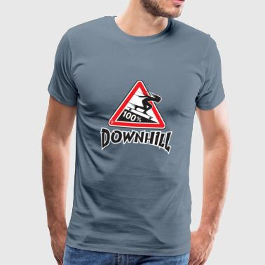 longboard downhill - Men's Premium T-Shirt