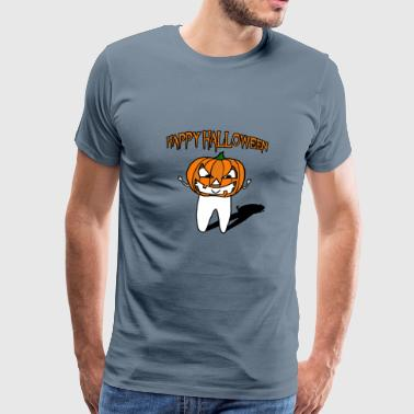 Dentista Gracioso Happy Halloween camiseta dental para dentistas - Camiseta premium hombre