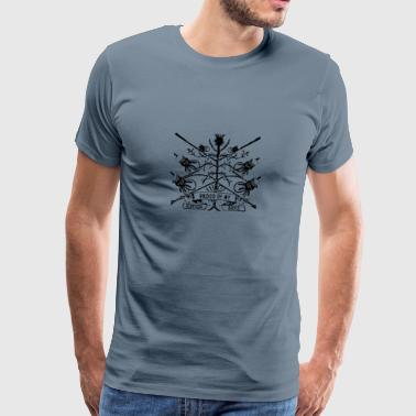 proud_scottish T-shirts - Mannen Premium T-shirt