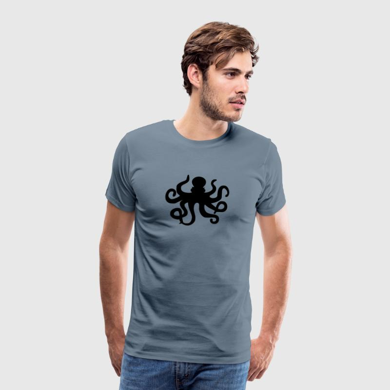 Octopus / squid / calamari / octopus tentacles - Men's Premium T-Shirt