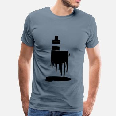Mod Art Vape T-shirt save the mod - Men's Premium T-Shirt