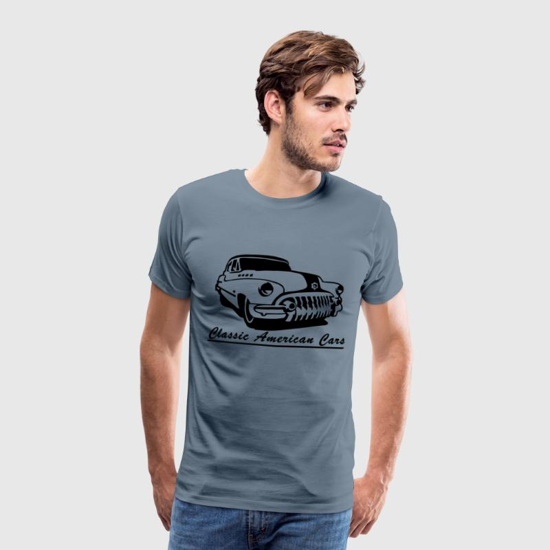 Classic American Cars  - T-shirt Premium Homme
