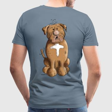 Dessin Dogue De Bordeaux Dogue de Bordeaux - T-shirt Premium Homme