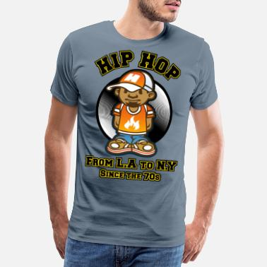 33t HIP HOP - Men's Premium T-Shirt