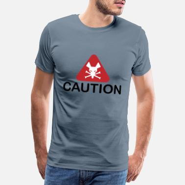 Caution Caution - Männer Premium T-Shirt