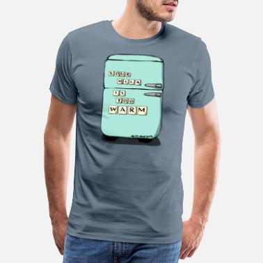 Hitchhikers Your Milk Is Too Warm - Men's Premium T-Shirt
