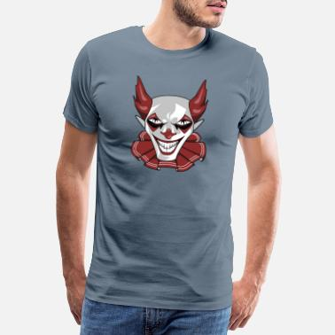 Wicked Clown Wicked Common Fikk skummel horror gave - Premium T-skjorte for menn