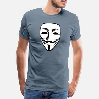Anonymous Anonymous - Premium T-skjorte for menn