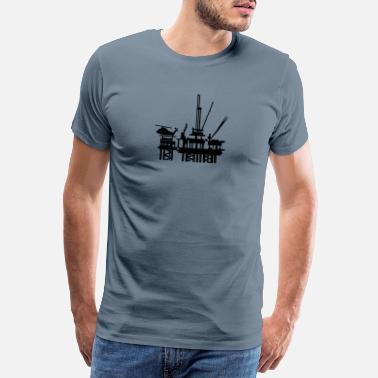 Bestill Oljerigg T skjorter på nett | Spreadshirt