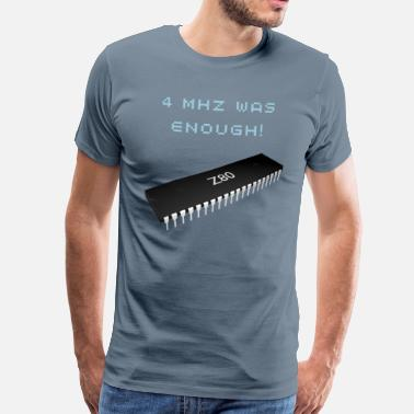Zx81 Vintage Chip Z80 - Men's Premium T-Shirt