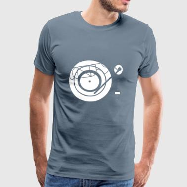 Kynda Music Turntable met - Mannen Premium T-shirt