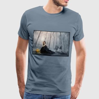 Lost in the Petrified Forest - Men's Premium T-Shirt