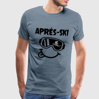 ApreSki002 - Men's Premium T-Shirt