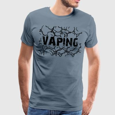 vaping 3 - Premium T-skjorte for menn