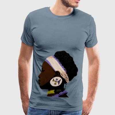 zulugirl 1 - Men's Premium T-Shirt