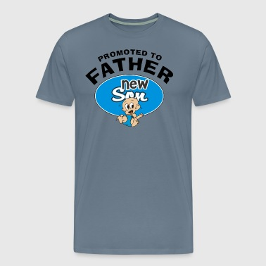 Promoted To Father New Son - Men's Premium T-Shirt