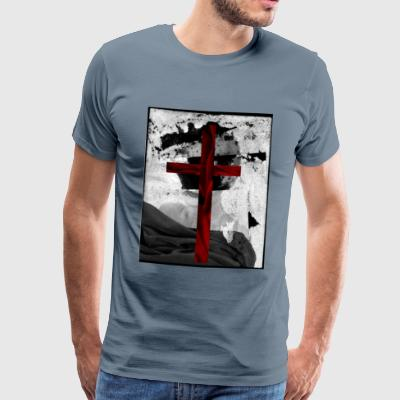 VELVET CROSS - Premium T-skjorte for menn