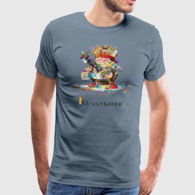 illustrator - Men's Premium T-Shirt
