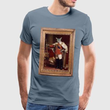 Cat king - Men's Premium T-Shirt
