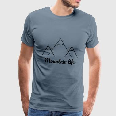logo mountain 2 - Men's Premium T-Shirt