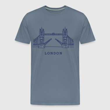 London Tower Bridge - Männer Premium T-Shirt