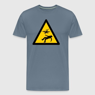 Warning Warning Warning Warning Signs - Men's Premium T-Shirt