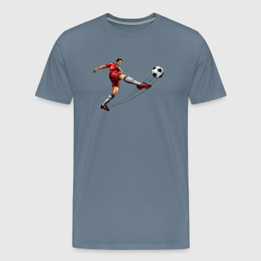 soccer player - T-shirt Premium Homme