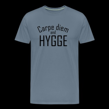 HYGGE Carpe diem - Men's Premium T-Shirt