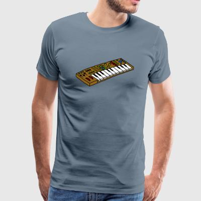 skjorte Synthesizer - Premium T-skjorte for menn