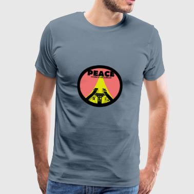 Paz Work in Progress - Camiseta premium hombre
