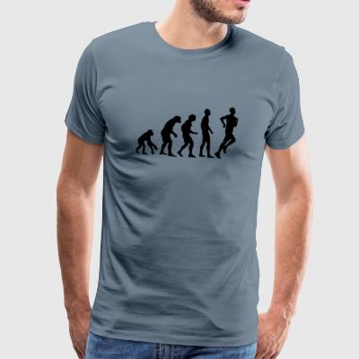 Human Evolution jogging - Men's Premium T-Shirt