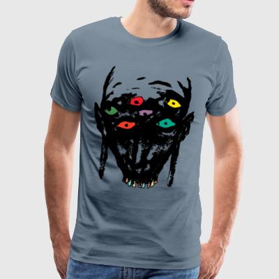 Funky head - Men's Premium T-Shirt