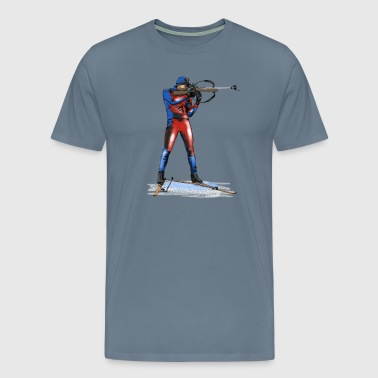 biathlon - Men's Premium T-Shirt