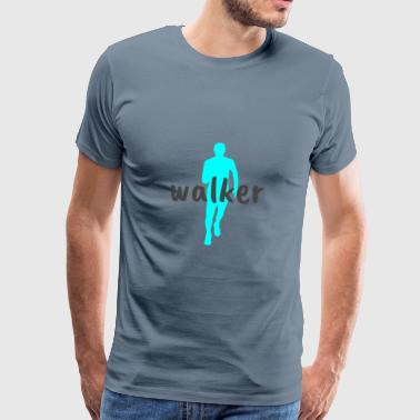walker - Premium T-skjorte for menn