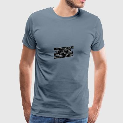 Motive for cities and countries - CHANNEL ISLANDS - Men's Premium T-Shirt