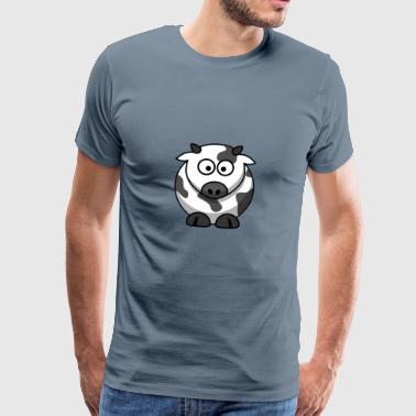 Cow cow - Men's Premium T-Shirt