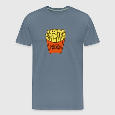 French fries - Men's Premium T-Shirt