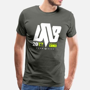 Jungle Dnb dnb 2017 - Männer Premium T-Shirt