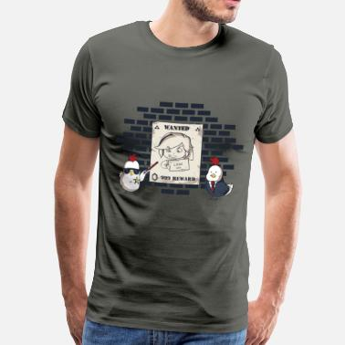 Gaming Collection The Legend Of Chicks - Men's Premium T-Shirt