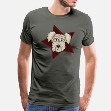 Hall Of Fame Irish Terrier ungeschoren - Männer Premium T-Shirt
