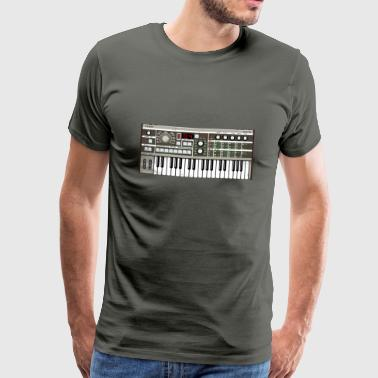 Synthesizer Micro Synthesizer MKIII #TTNM - Herre premium T-shirt