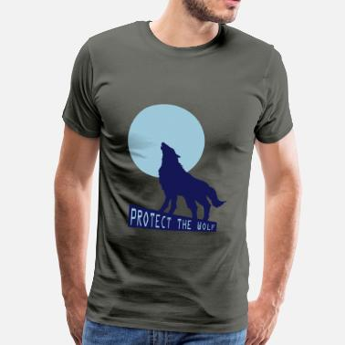 Wolf Child Wolf wolf - Men's Premium T-Shirt
