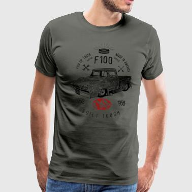 F100 Built Tough, Vintage - Männer Premium T-Shirt