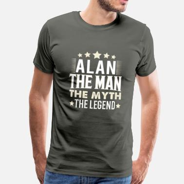 Alan Alan - Men's Premium T-Shirt