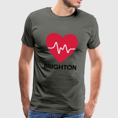 heart Brighton - Men's Premium T-Shirt