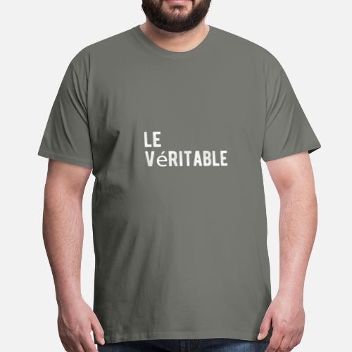Dites le cadeau de lettrage classique original T-shirt premium Homme    Spreadshirt e040c4ddacd