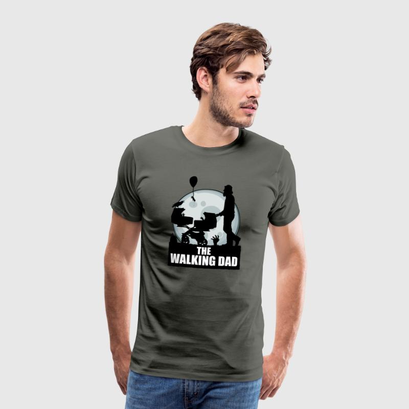 THE WALKING DAD zombie - Männer Premium T-Shirt